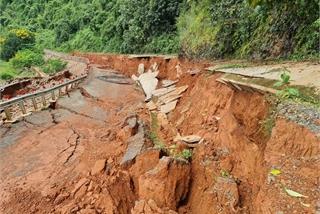 Road at UNESCO-recognised geopark face severe landslides