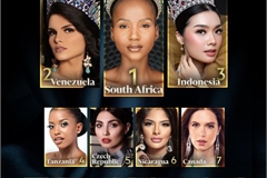 Vietnam beauty forecasted to be in top 10 of Miss World 2021