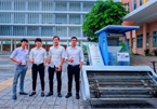 Da Nang students make beach litter collecting machines