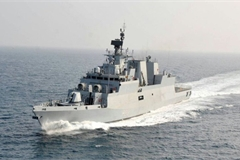 Indian naval ship visits HCM City