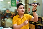 Hanoi restaurant uses flycams to serve customers