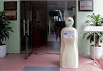 Hanoi university uses robot for mask wearing reminders