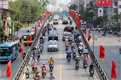 Hanoi decorated to mark President Ho Chi Minh's birthday