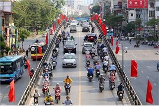 Hanoi decorated to mark President Ho Chi Minh's birthday