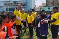 500 Vietnamese children compete for Juventus football academy
