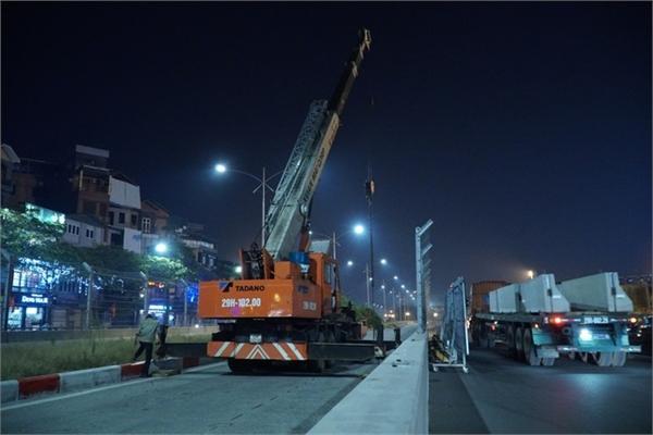 Hanoi's F1 racetrack fences removed