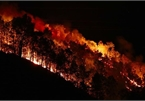 Forest fires continue to affect central Vietnam