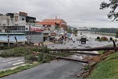 Heavy rain causes severe landslides in Da Lat, tourists evacuated