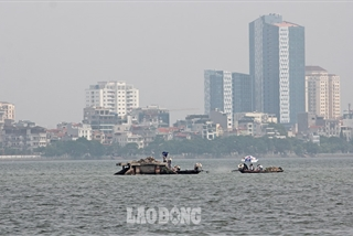 Another fish death hits Hanoi's largest lake
