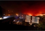 Fire engulfs Hanoi light source firm