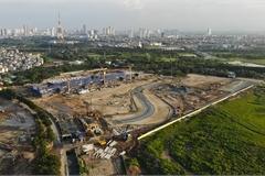 Construction on Hanoi F1 racetrack underway