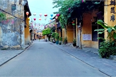 Hoi An turns quite amid pandemic