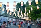 Hanoi street coloured with lanterns ahead Mid-Autumn Festival