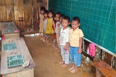 Mountainous pupils struggling difficulties
