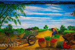 Mural project brightens Hanoi suburban village