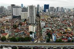 Slow construction plagues short Hanoi street