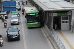 Hanoi Public Transport Association proposes bus-only lanes