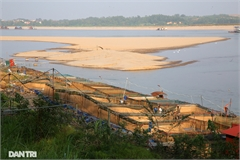 Fish farms in danger as Da River drying out