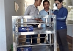 Danang university builds delivery robots for quarantine areas