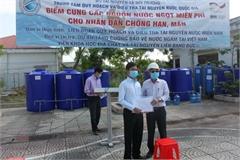Mekong Delta supplied free freshwater