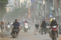 Hanoi air pollution remains bad