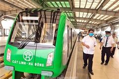 Cat Linh-Ha Dong Metro Line delayed again