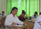 Mature students participate in high school graduation exams