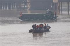Suspected bomb under Hanoi bridge