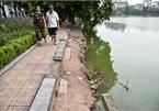 Hoan Kiem Lake erosion poses safety risks