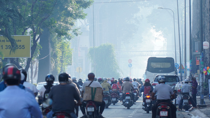 HCM City covered in smog as pollution worsens