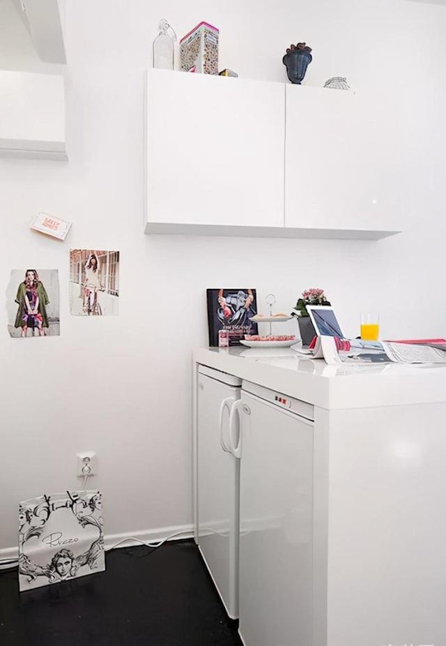 Cô gái sống độc thân trong căn phòng 30m2 nhưng tiện ích không ngờ - Hình 4