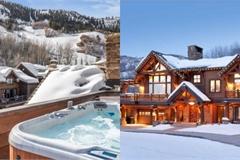 Biệt thự gỗ 45 triệu USD giữa rừng tuyết đẹp như cổ tích