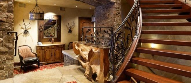 Biệt thự gỗ 45 triệu USD giữa rừng tuyết đẹp như cổ tích - Hình 3