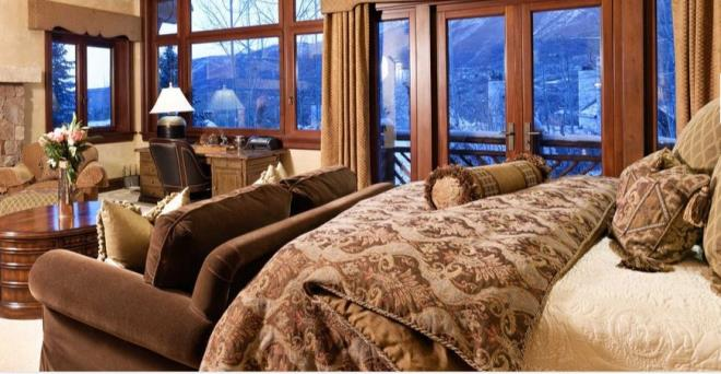 Biệt thự gỗ 45 triệu USD giữa rừng tuyết đẹp như cổ tích - Hình 7