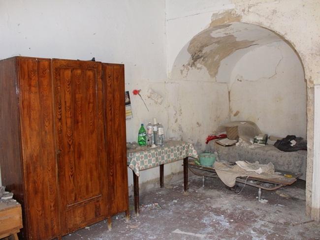 Một căn phòng trông như phim kinh dị...
