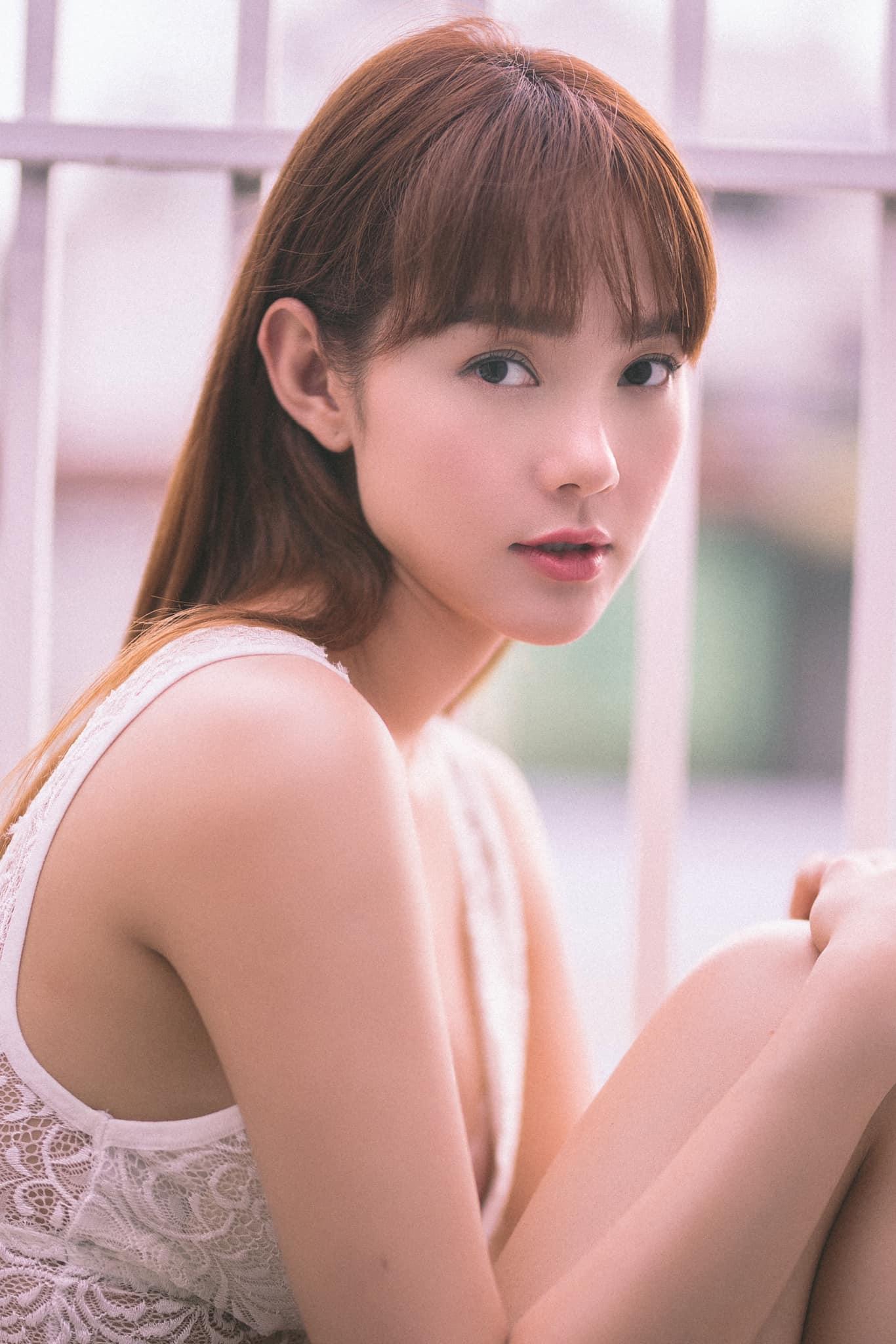 Minh Hằng diện quần 15cm, trẻ đẹp tựa thiếu nữ ngập tràn sức sống - 3