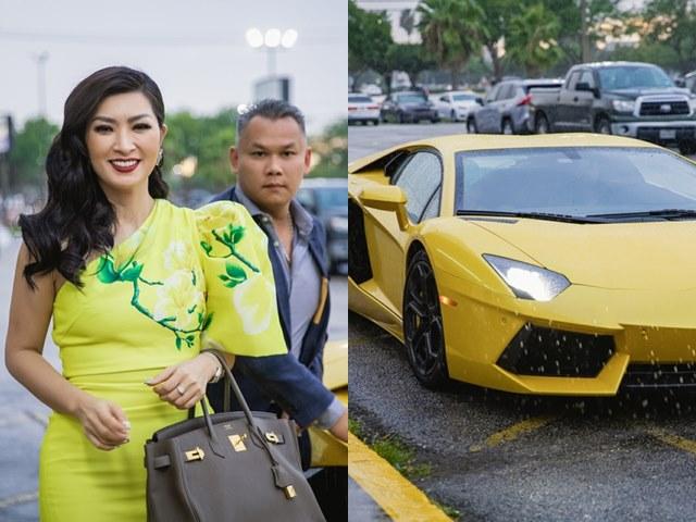 Hồng Nhung giàu cỡ nào khi đeo nhẫn 30.000 USD, lái Lamborghini 500.000 USD? - 4