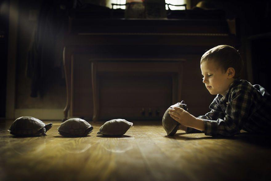 Bộ ảnh tuyệt đẹp về tuổi thơ trên nông trại - 6