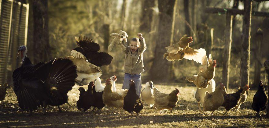 Bộ ảnh tuyệt đẹp về tuổi thơ trên nông trại - 8