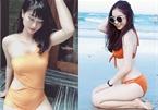 'Bỏng mắt' ngắm bạn gái cầu thủ diện bikini đón hè