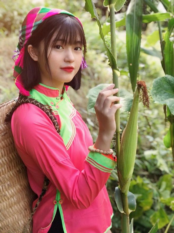 Xao xuyến nét đẹp trong sáng của cô gái dân tộc Giáy - 2