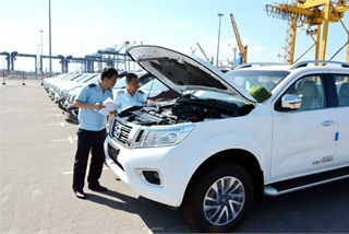 Hàng chục xe nhập khẩu bị tẩy xóa số khung, số máy