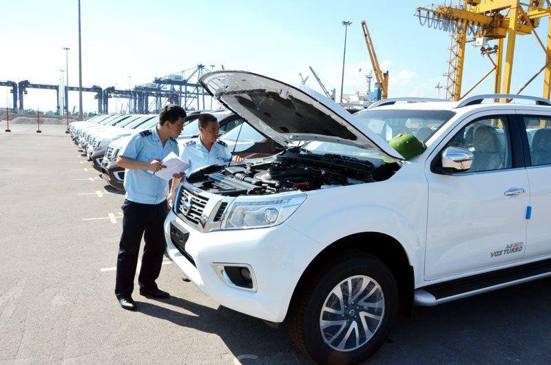 Phát hiện hàng chục xe nhập khẩu bị tẩy xóa số khung, chất lượng kém - 1