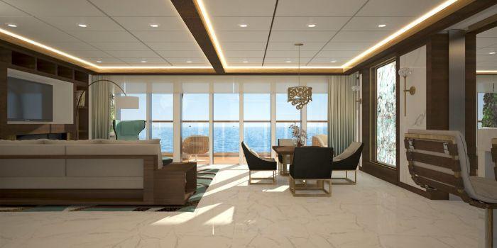 Chủ sở hữu sẽ có dịch vụ quản gia riêng cho mỗi căn hộ, theo Blue World Voyages.
