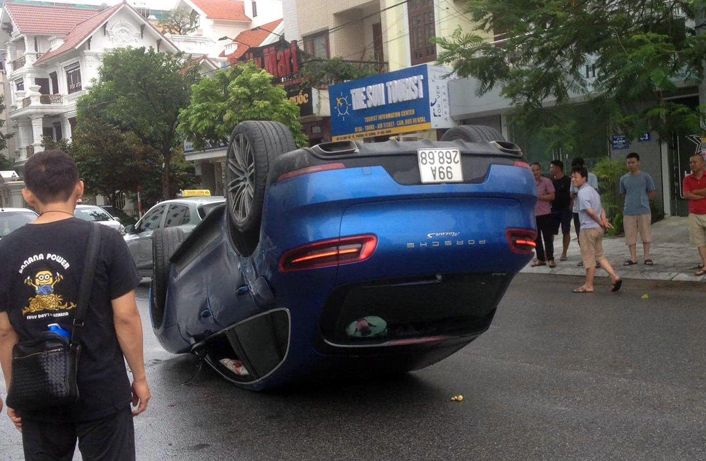 Phơi bụng trong bão - Porsche Macan S lộ biển số trùng Toyota Vios - 1