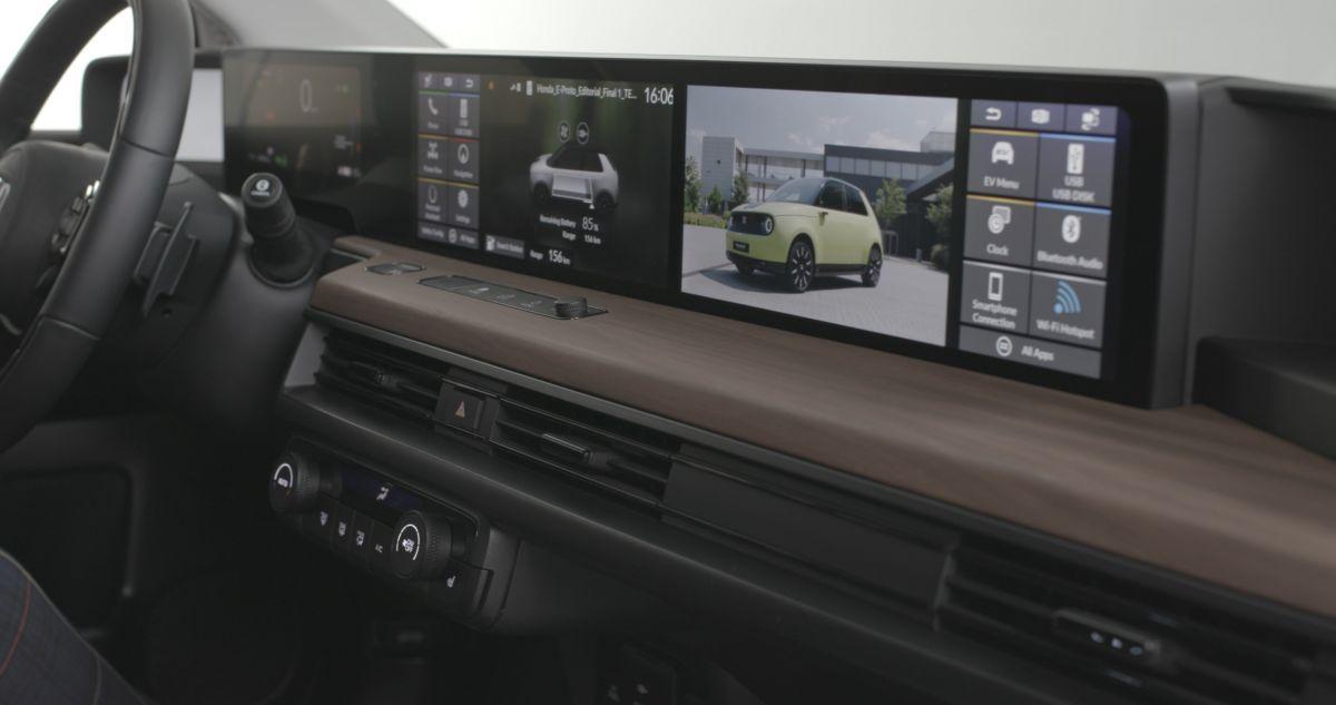 Honda học hãng xe khởi nghiệp Trung Quốc chơi màn hình siêu rộng - 5