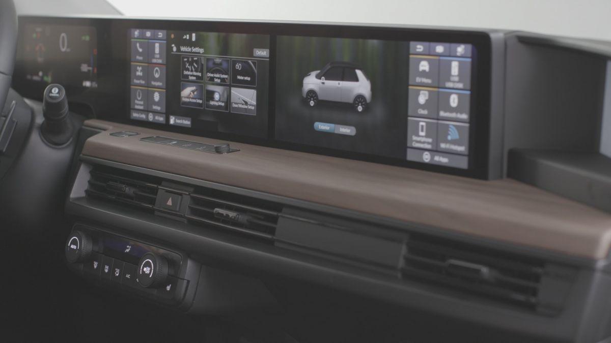 Honda học hãng xe khởi nghiệp Trung Quốc chơi màn hình siêu rộng - 9