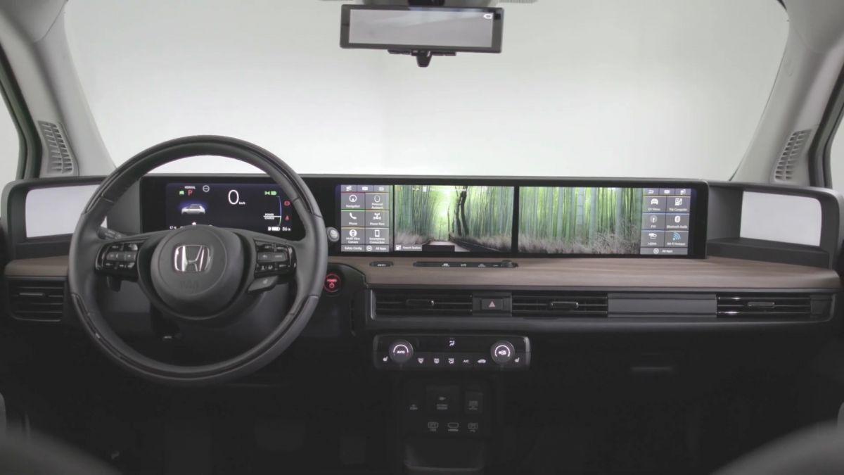 Honda học hãng xe khởi nghiệp Trung Quốc chơi màn hình siêu rộng - 2