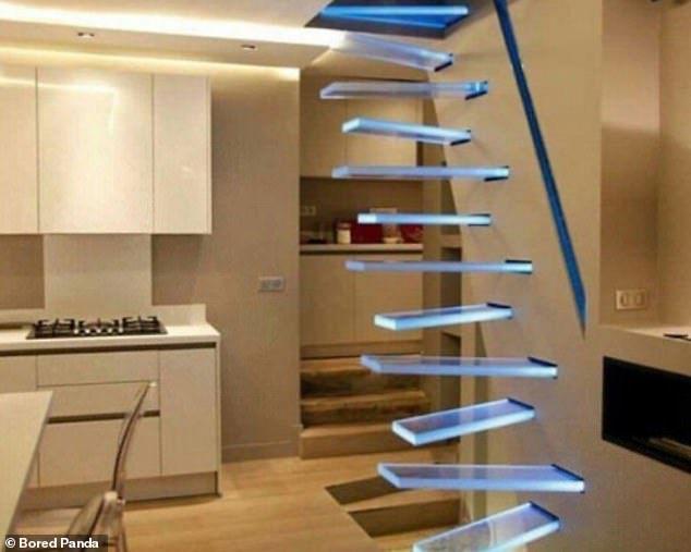"""""""Nấc thang xuống địa ngục"""", những cầu thang được thiết kế khó hiểu nhất thế giới - 1"""