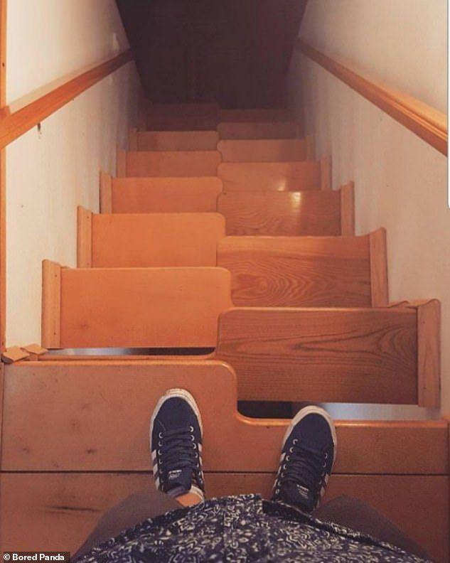"""""""Nấc thang xuống địa ngục"""", những cầu thang được thiết kế khó hiểu nhất thế giới - 5"""
